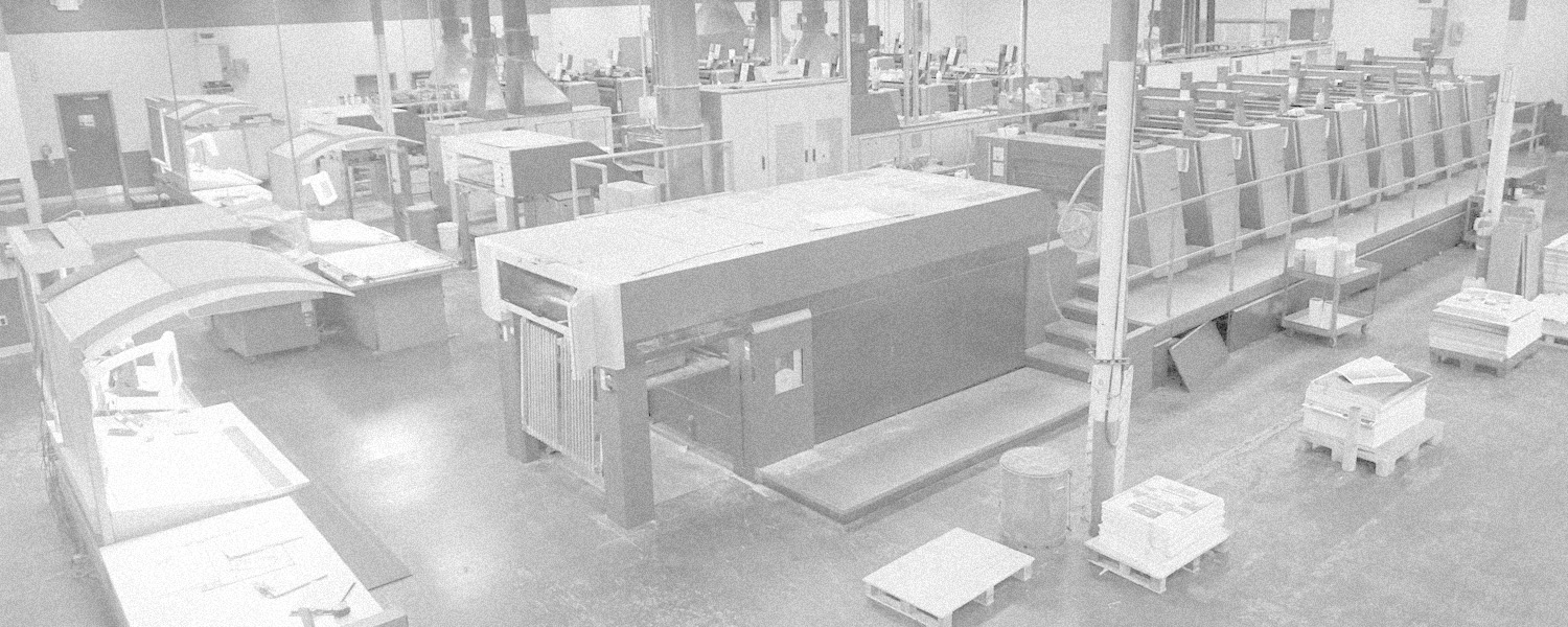 Geographics Sheetfed Printing Pressroom